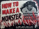 How to Make a Monster - British Movie Poster (xs thumbnail)