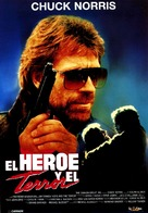 Hero And The Terror - Spanish Movie Poster (xs thumbnail)