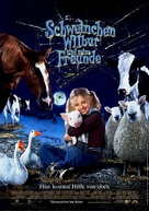 Charlotte's Web - German Movie Poster (xs thumbnail)