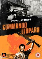 Kommando Leopard - British DVD cover (xs thumbnail)