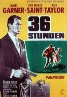 36 Hours - German Movie Poster (xs thumbnail)
