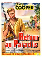 Return to Paradise - Belgian Movie Poster (xs thumbnail)