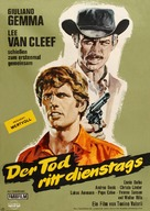 I giorni dell'ira - German Movie Poster (xs thumbnail)