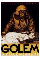 Der Golem, wie er in die Welt kam - German Movie Poster (xs thumbnail)