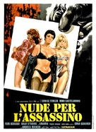 Nude per l'assassino - Italian Movie Poster (xs thumbnail)