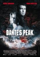 Dante's Peak - German Movie Poster (xs thumbnail)