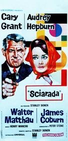 Charade - Italian Movie Poster (xs thumbnail)