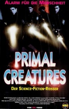 Carnosaur 3: Primal Species - German VHS movie cover (xs thumbnail)