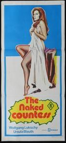 Die nackte Gräfin - Australian Movie Poster (xs thumbnail)