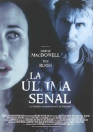 The Last Sign - Spanish poster (xs thumbnail)