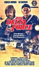 The Delta Force - Canadian VHS movie cover (xs thumbnail)