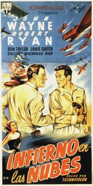Flying Leathernecks - Spanish Movie Poster (xs thumbnail)