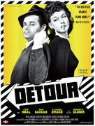Detour - French Re-release movie poster (xs thumbnail)