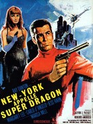New York chiama Superdrago - French Movie Poster (xs thumbnail)