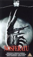 Nosferatu, eine Symphonie des Grauens - British VHS cover (xs thumbnail)