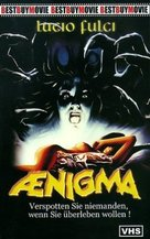 Aenigma - German VHS movie cover (xs thumbnail)