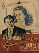 The Woman in the Window - French Movie Poster (xs thumbnail)