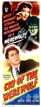 Cry of the Werewolf - Theatrical movie poster (xs thumbnail)