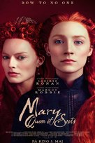 Mary Queen of Scots - Norwegian Movie Poster (xs thumbnail)