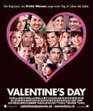 Valentine's Day - Swiss Movie Poster (xs thumbnail)