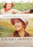 Sense and Sensibility - Swedish Movie Poster (xs thumbnail)