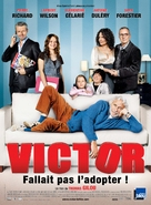 Victor - French Movie Poster (xs thumbnail)