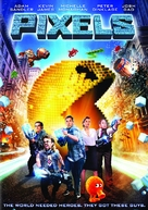 Pixels - DVD cover (xs thumbnail)