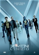 X-Men: First Class - Italian Movie Poster (xs thumbnail)