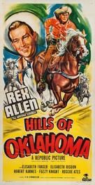 Hills of Oklahoma - Movie Poster (xs thumbnail)
