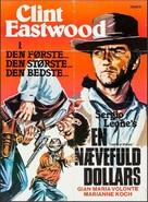 Per un pugno di dollari - Danish Movie Poster (xs thumbnail)