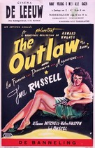 The Outlaw - Belgian Movie Poster (xs thumbnail)