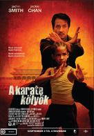 The Karate Kid - Hungarian Movie Poster (xs thumbnail)