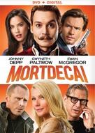 Mortdecai - DVD cover (xs thumbnail)