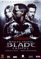 Blade: Trinity - French DVD cover (xs thumbnail)