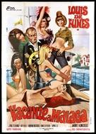 Taxi, Roulotte et Corrida - Italian Movie Poster (xs thumbnail)