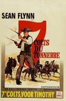 7 magnifiche pistole - Belgian Movie Poster (xs thumbnail)