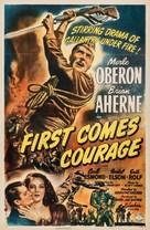 First Comes Courage - Movie Poster (xs thumbnail)