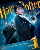 Harry Potter and the Sorcerer's Stone - Blu-Ray cover (xs thumbnail)
