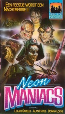 Neon Maniacs - Dutch VHS cover (xs thumbnail)