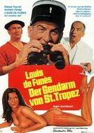 Le gendarme de St. Tropez - German Movie Poster (xs thumbnail)