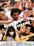 Tendre voyou - French Movie Poster (xs thumbnail)