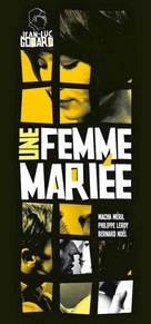 Une femme mariée: Suite de fragments d'un film tourné en 1964 - French Movie Poster (xs thumbnail)