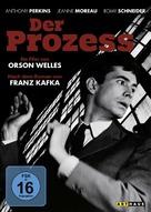 Le procès - German DVD movie cover (xs thumbnail)
