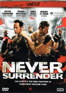 Never Surrender - Austrian DVD cover (xs thumbnail)