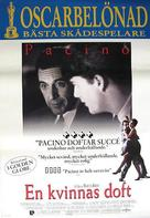 Scent of a Woman - Swedish Movie Poster (xs thumbnail)
