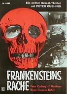 The Revenge of Frankenstein - German Movie Poster (xs thumbnail)