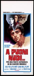 A pugni nudi - Italian Movie Poster (xs thumbnail)
