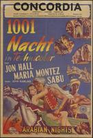 Arabian Nights - Dutch Movie Poster (xs thumbnail)