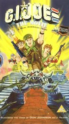 G.I. Joe: The Movie - British VHS cover (xs thumbnail)