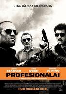 Killer Elite - Lithuanian Movie Poster (xs thumbnail)